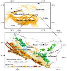 Tibetan Plateau Map Influence Of Vegetation Cover On Regional Evapotranspiration In