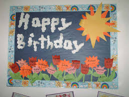 birthday board could a birthday wall so everyone knows when each others b