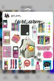 high school stuff back to school must haves part 2 school high school and college