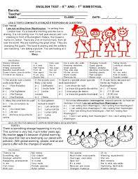 New ATIVIDADES DIVERSAS CLÁUDIA: Prova de Inglês com descritores 2 &UF24