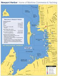 Map Of Newport Ri New Anchoring Rules In Newport Ri At Odds With Live Aboards
