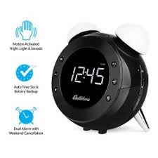 Motion Activated Night Light Electrohome Retro Alarm Clock Radio With Motion Activated Night