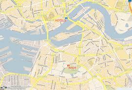 Map Netherlands Rotterdam Map
