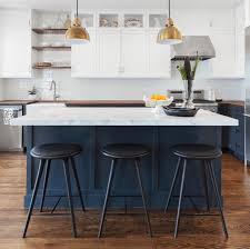 Blue Kitchen Paint Painted Kitchen Cabinet Ideas Painting A Black And White Wall