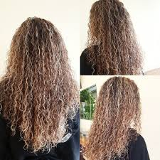dallas salons curly perm pictures beautiful perm using different sized rods to complete the natural