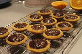 ghostly chocolate orange tarts for sundaysupper happy baking days