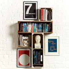 Quirky Bookcase Collectors Cabinets U0026 Shelving Handmade Modular Gallery Shelves