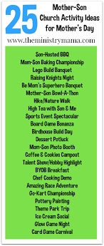 25 church activity ideas for s day the