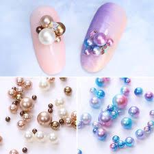 Nail Decorations Unbranded Mermaid Nail Art Pearls Ebay