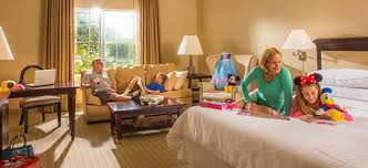 Best Family Friendly Hotel Rooms Anaheim Majestic Garden Hotel - Family room hotel