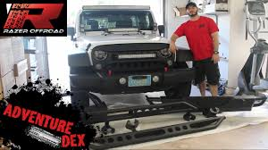 jeep wrangler front jeep wrangler front and rear bumper unboxing u0026 review by razerauto
