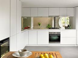 mirror kitchen backsplash san francisco mirrored kitchen backsplash transitional with island