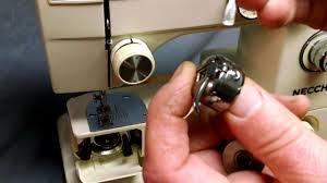 how to wind bobbin and thread bobbin case for necchi 535fa 535