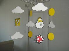Super Mario Decorations Cute Decoration Fiesta De Mario Nintendo Pinterest