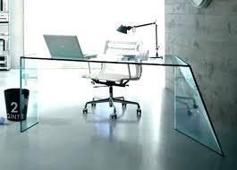 Glass Office Desks Nervi Glass Office Desk Outstanding Creative Of Glass Office Desk