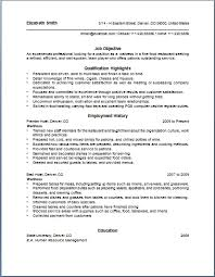 sle of waitress resume 1 waitress name uxhandy com high school graduation speech essay my life as a dancer essay