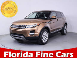 land rover car 2014 used 2014 land rover range rover evoque pure suv for sale in