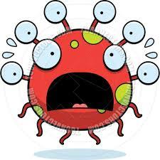 cartoon alien eyeball monster scared by cory thoman toon vectors