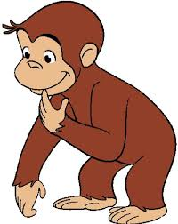 curious george cartoon image clip art library