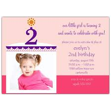 nice 2nd birthday invitations ideas for kids free printable