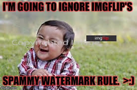 Make A Meme Without Watermark - insert watermark to another website here imgflip