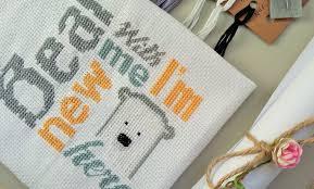 cute cross stitch pattern cute bear cross stitch embroidery bear