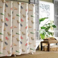 Flower Drop Shower Curtain Buy Stall Size Shower Curtains From Bed Bath U0026 Beyond
