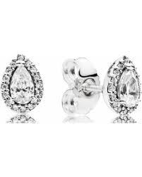 teardrop stud earrings shopping s deal on pandora radiant teardrops stud
