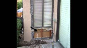 remove window and install door building remodeling youtube