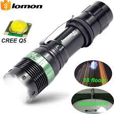 le torche cree portable powerful led flashlight cree q5 waterproof