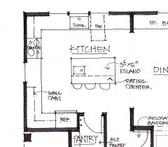 Peninsula Kitchen Floor Plan by Tag For Galley Kitchen Cabinets Design Nanilumi