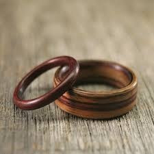 Wood Wedding Rings by 18 Best Wedding Band Images On Pinterest Rings Wedding Stuff