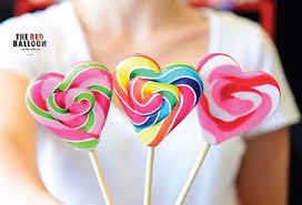 heart lollipop rainbow swirl heart lollipops melbourne