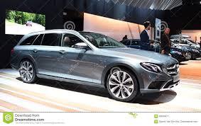 luxury mercedes van mercedes benz e class estate luxury station wagon stock video