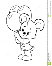 teddy bear with rose coloring page alltoys for