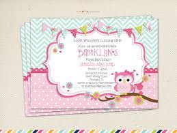owl invitations for first birthday free printable invitation design