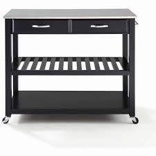 kitchen island cart with stainless steel top kitchen island cart stainless steel best of crosley furniture