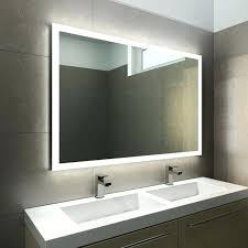 Bathroom Mirror With Clock Bathroom Mirrors With Led Lights And Shaver Socket Best Mirror