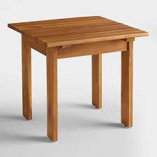 Vintage Adirondack Chairs Natural Adirondack Side Table World Market