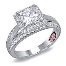 unique princess cut engagement rings princess cut engagement ring dw6088