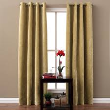 thick velvet curtains