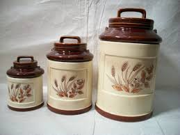 Ceramic Canisters Sets For The Kitchen Ceramic Kitchen Canisters Southbaynorton Interior Home