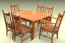 Mission Style Dining Room Tables - arts and crafts dining room set arts and crafts style dining room
