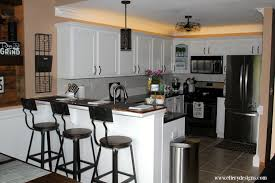 Diy Kitchen Decorating Ideas Kitchen Diy Kitchen Remodel With Grey Cabinets And Blind For