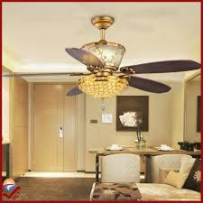oct original 110v luxury ceiling fan lighting european brushed