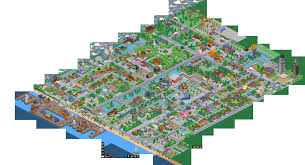 Springfield Map Introducing Our July Tapper Of The Month The Simpsons Tapped Out