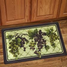Anti Fatigue Kitchen Rugs Sweet Home Collection Grapes Of Tuscany Anti Fatigue Kitchen Mat