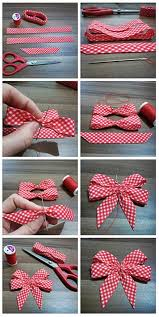 homemade bows i always forget how to make these so i u0027m pinning