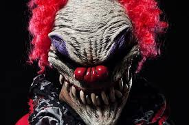 happy birthday creepy clown scary the reasons are so scared of clowns there s quite a few of