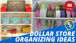 51 dollar store organizing ideas and projects for the entire home